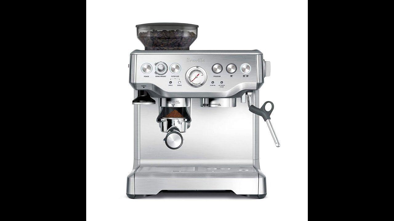 Breville bes870xl reviews automatic espresso machine