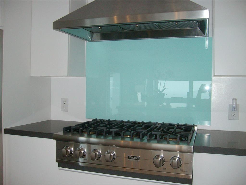 - Backsplash Glass (With Images) Backsplash For White Cabinets
