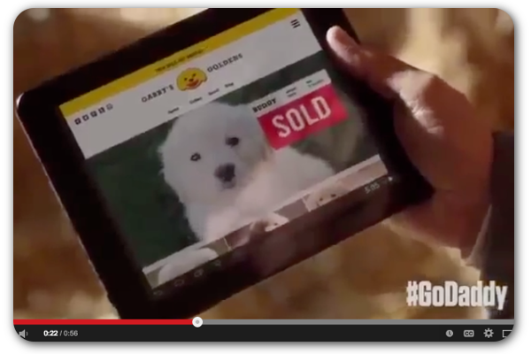 GoDaddy's controversial Super Bowl #marketing turns heads: The Web hosting service made waves again with its Super Bowl ad teaser. Does the tactic still work with consumers, or are people growing tired of it? #GoDaddyPuppy #SuperBowl