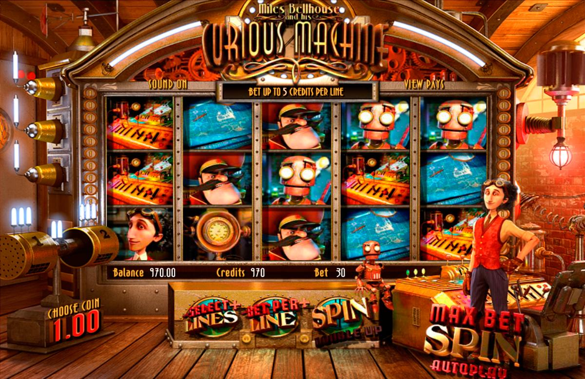 The Curious Machine Spielautomat von BetSoft ✔ Spiele KOSTENLOS!