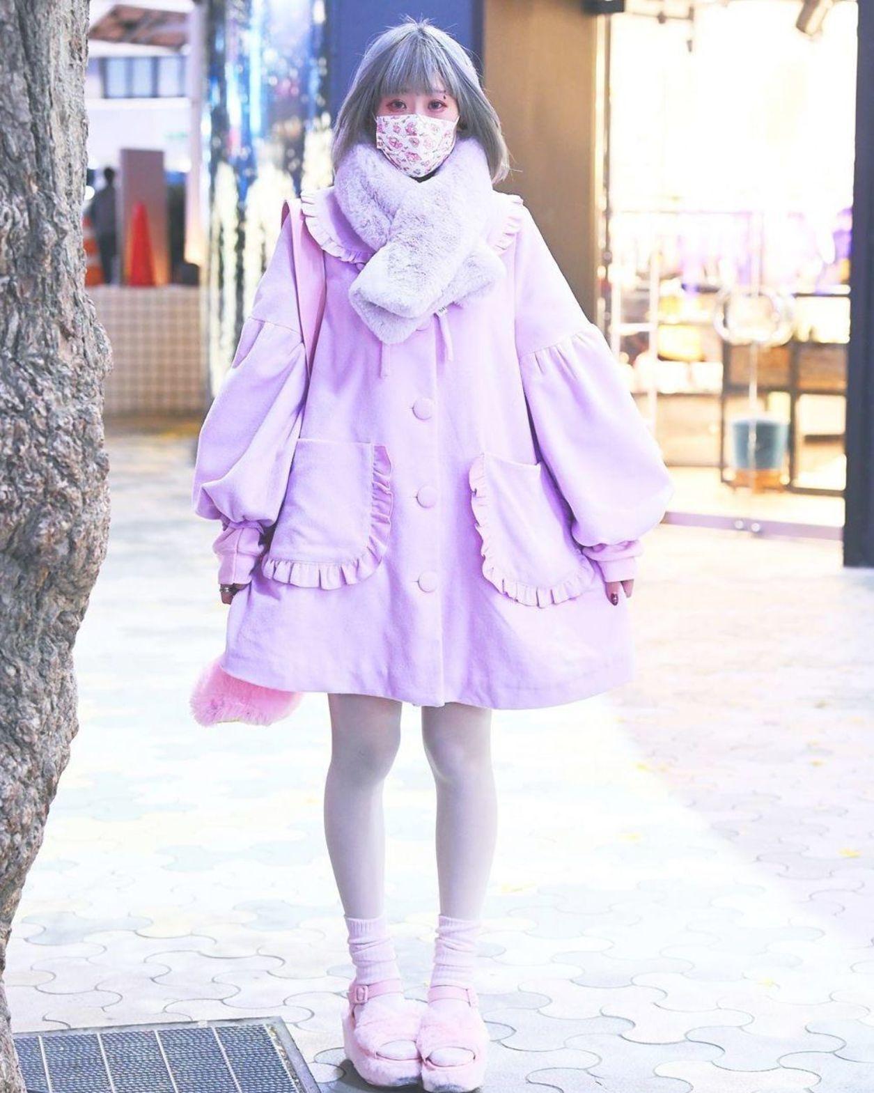 """Harajuku Fashion Walk in Tokyo on Instagram """"Name Nuko (@nukochaaa) —"""