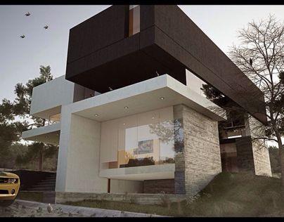 Casa la Villa   Villa House fachadas Pinterest Fachadas - fachadas contemporaneas