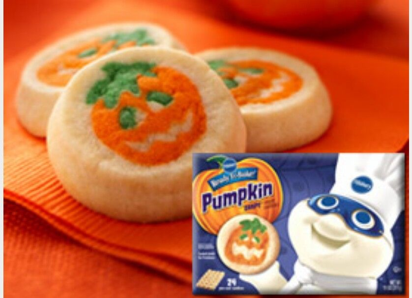 Pin By Stephanie M On The 90 S Halloween Sugar Cookies Pillsbury