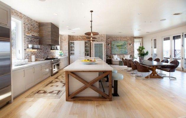 Des Idees De Cuisine Originale Pour Une Maison Contemporaine