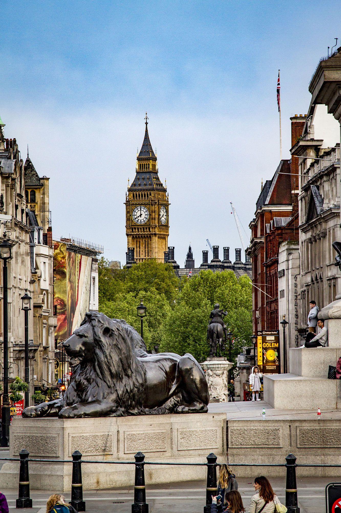 Always Beautiful London Trafalgar Square Trafalgar Square London London England London