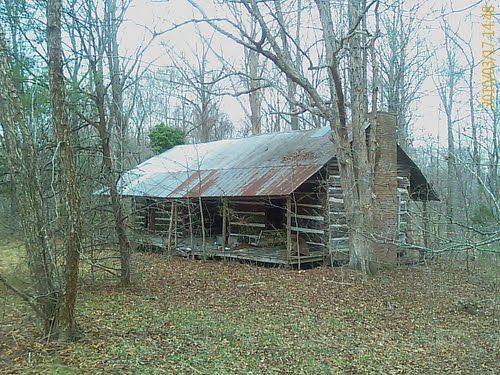 Log Cabin In The Woods | Panoramio - Photo of old log cabin in the woods