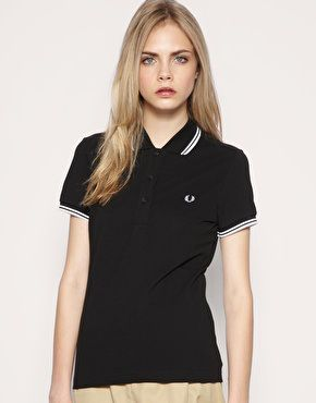 Asos fred perry polo shirt womens