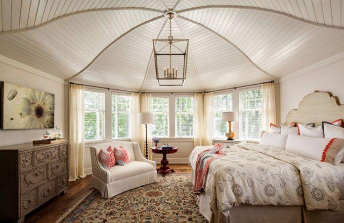 Romantische Schlafzimmer #alternative #dekoration #farbe #ideen #ihres  #Kissen #kreative