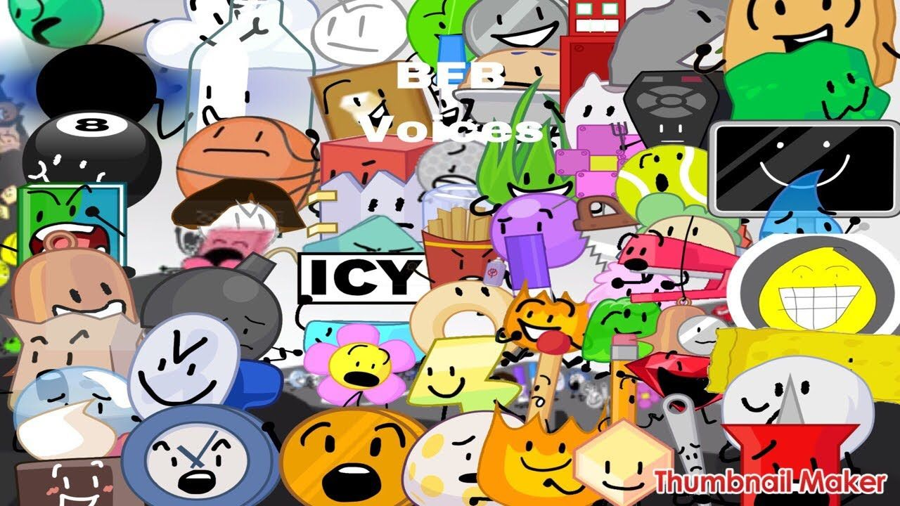 Bfb All Characters Voices Youtube Free Food Make It Yourself The Voice