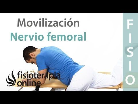 Cómo realizar una Auto-movilizaciones del nervio Femoral para cruralgia o neruralgia crural   Fisioterapia Online