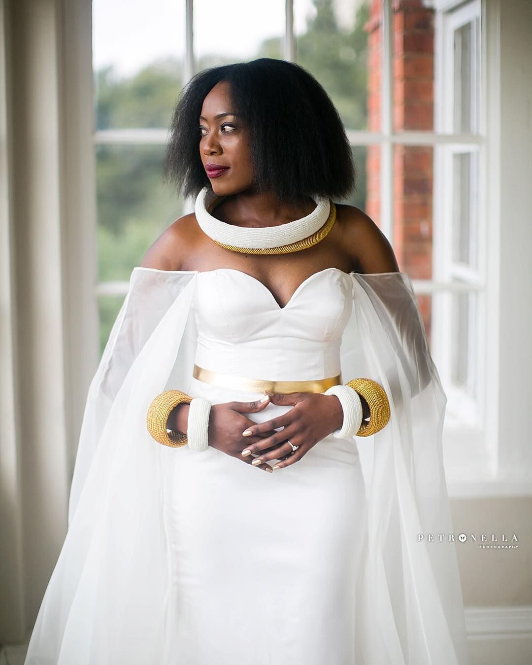 e6c61a5f069d7 Petronella Lugemwa won my heart with this beautiful caped gown. I am ...