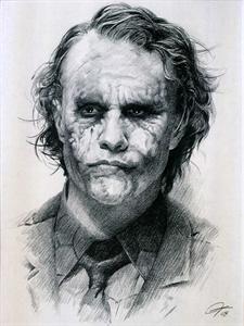 Pencil Drawings Famous Artists Pesquisa Do Google Joker