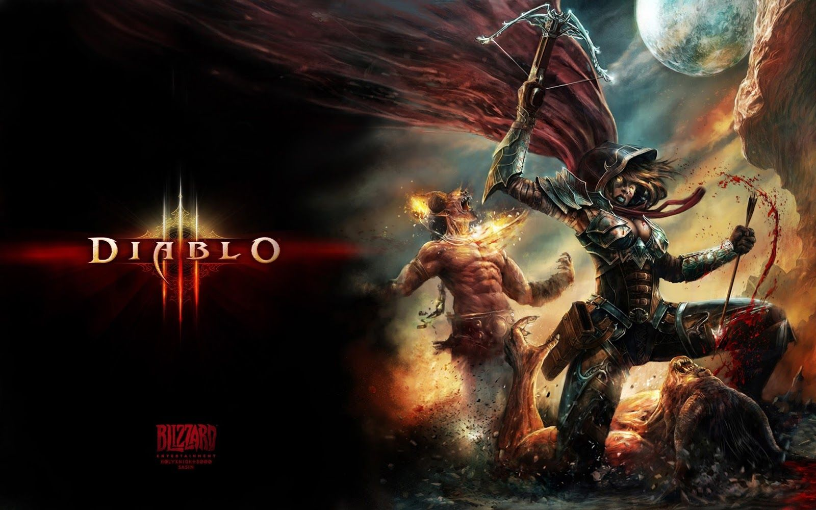 Diablo 3 Wallpaper Demon Hunter Diablo 3 Star Wars Images Diablo