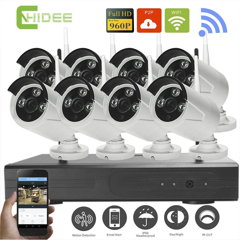 Wireless NVR Kit P2P 960P HD Outdoor Waterproof IR Night Vision Security IP  Camera kit WIFI CCTV System Surveillance Kit  21   women 00e5b3e2c1