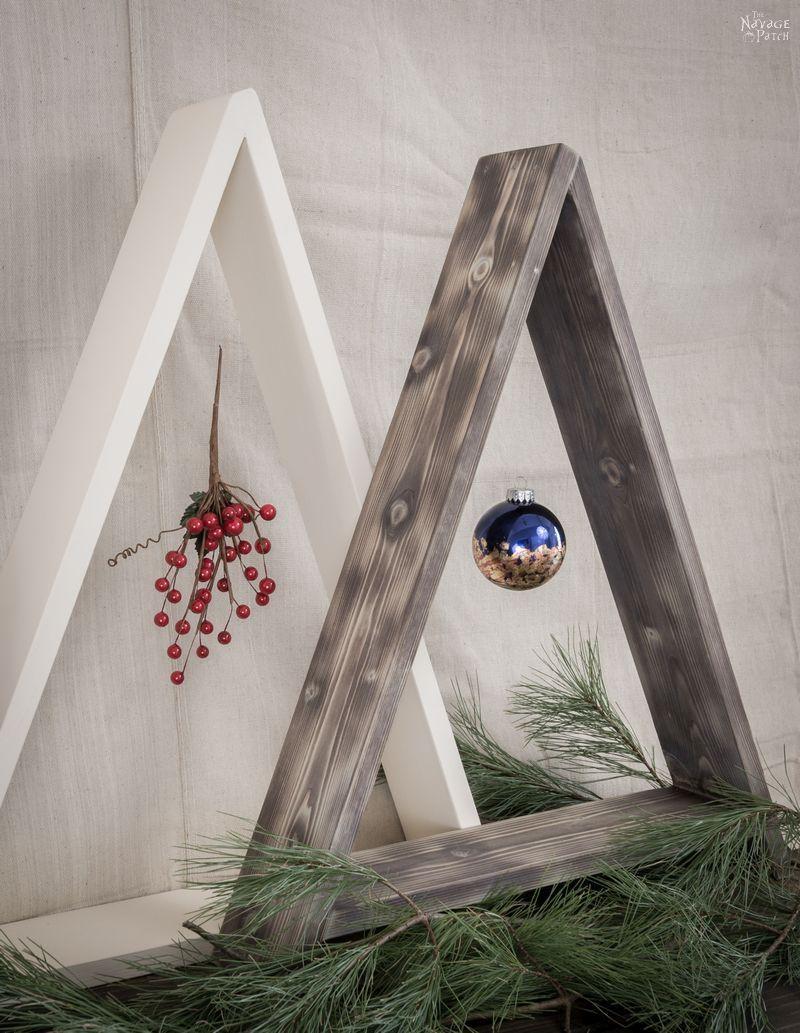 Diy Wooden Minimalist Christmas Tree Wooden Christmas