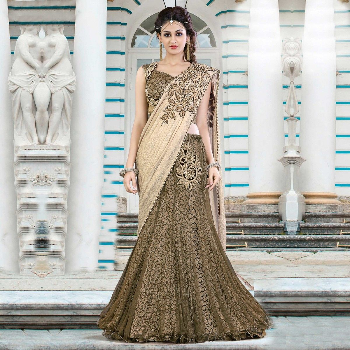 Brown Party Dresses for Women