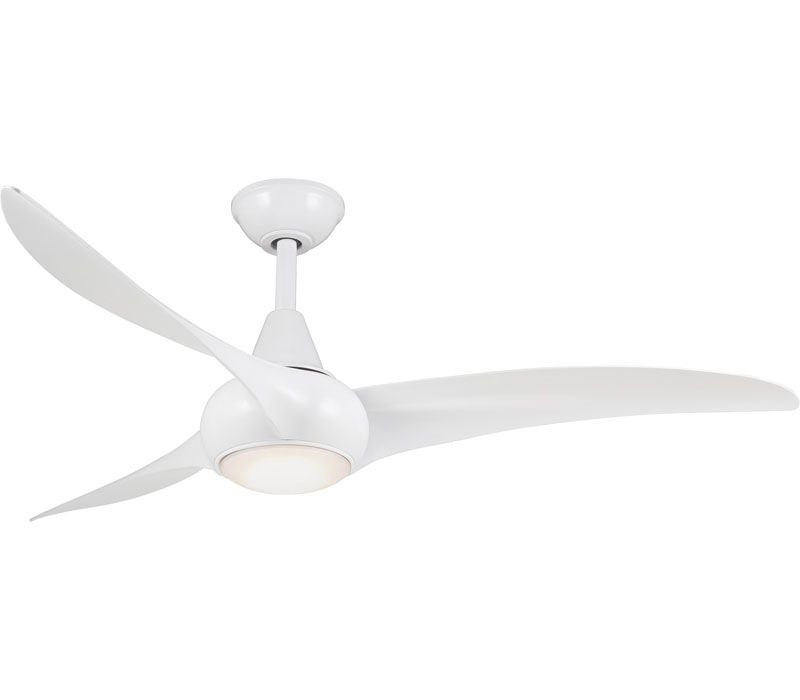 Minka Aire F844 Dk Light Wave 52 Ceiling Fan With Led Light And
