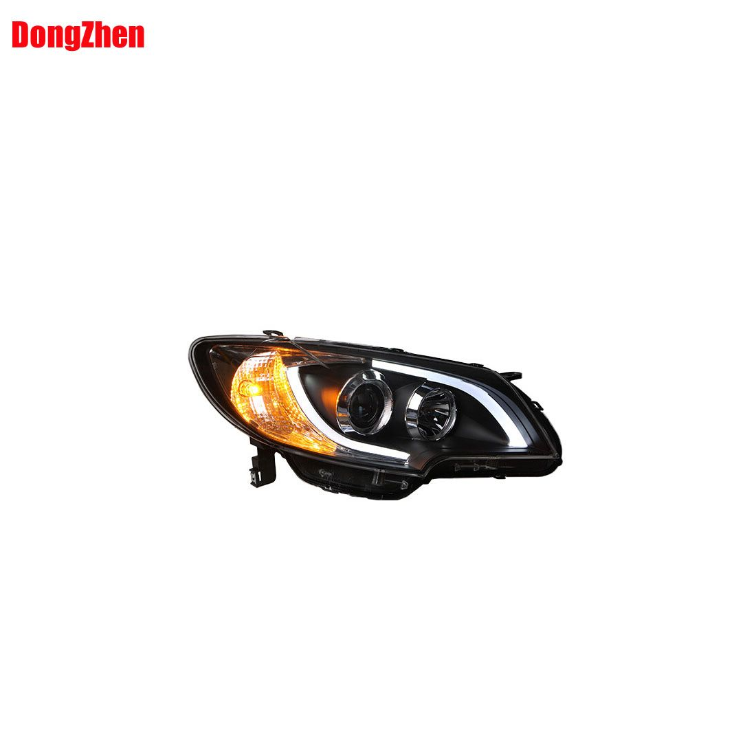 $436.66 (Buy here: http://appdeal.ru/dlk5 ) Dong Zhen LED Headlight Angel Eyes 2013 to 2015 car styling Fit For TOYOTA corolla ex 1set for just $436.66