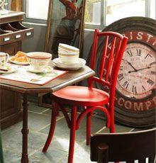 deco bistrot boucherie pinterest deco bistrot boucherie et guinguette. Black Bedroom Furniture Sets. Home Design Ideas