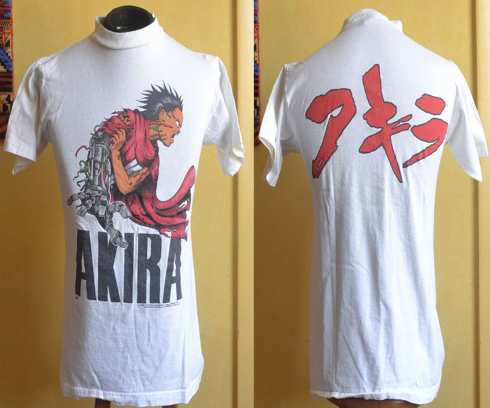 VTG Akira 1988 Fashion Victim Tag T-Shirt Medium Tetsuo Anime Manga Japan   FashionVictim  GraphicTee. Find this Pin and more ... 70cc080ee