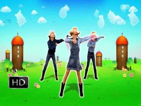 Just Dance Kids The Hamster Dance Song (Wii Rip