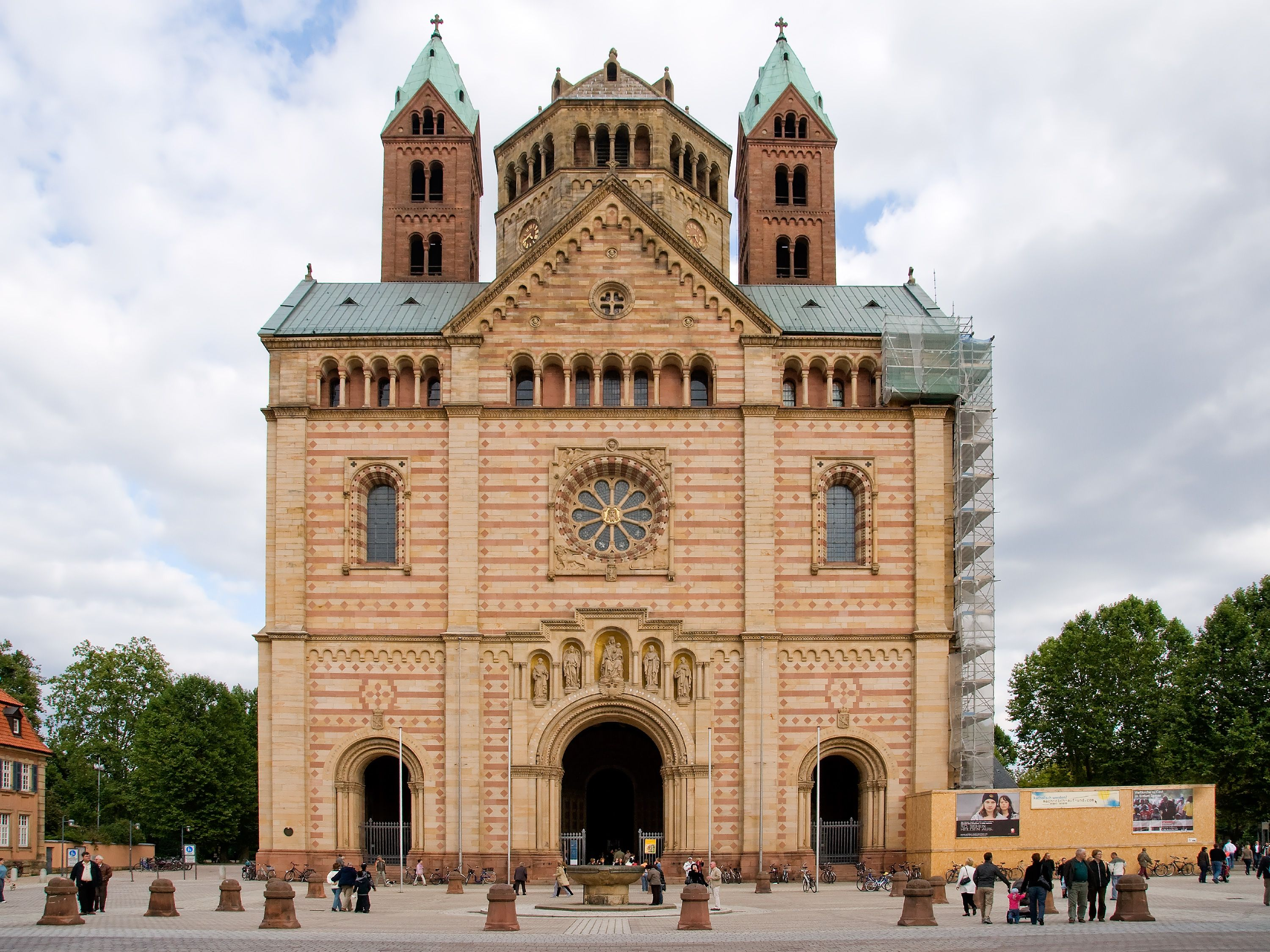 Cathedral Cathedral West Romanesque Architecture Forward Romanesque