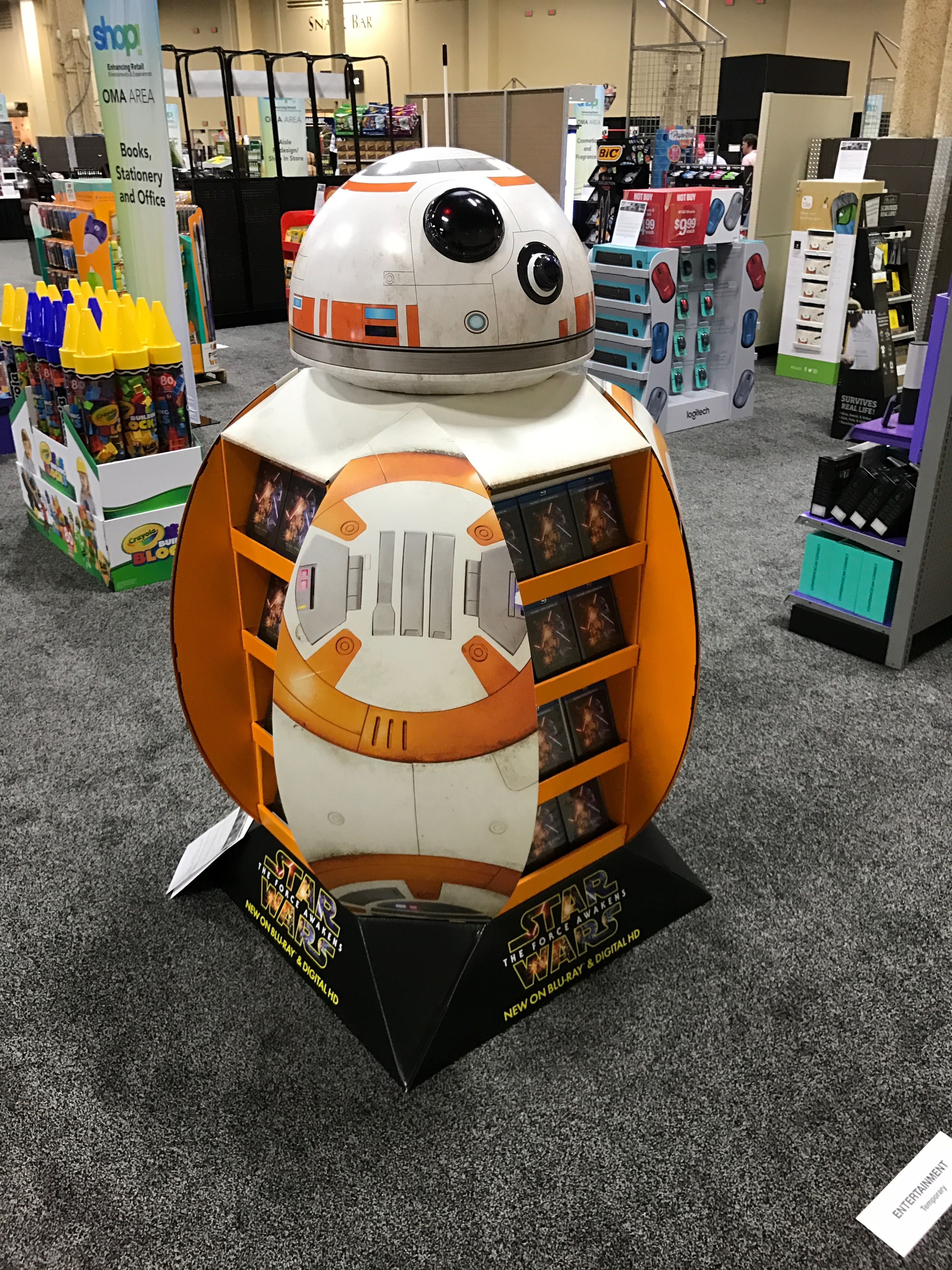 Looking To Purchase This Unit: Star Wars BB-8 Free Standing Unit