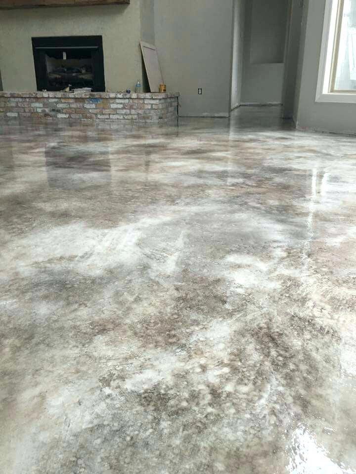 Diy basement design diybasementidea concrete stained