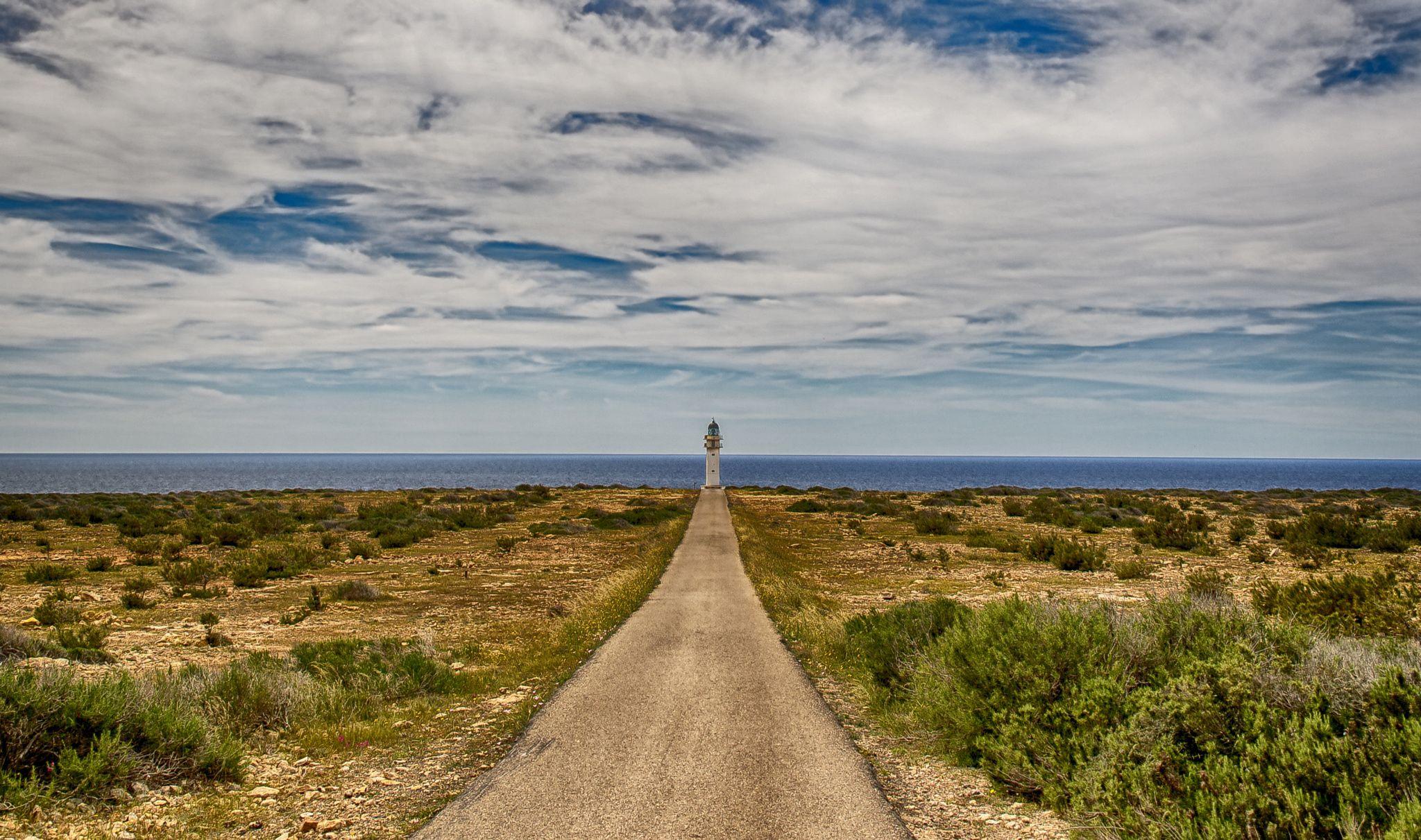 Cap de Barbaria , Formentera ...
