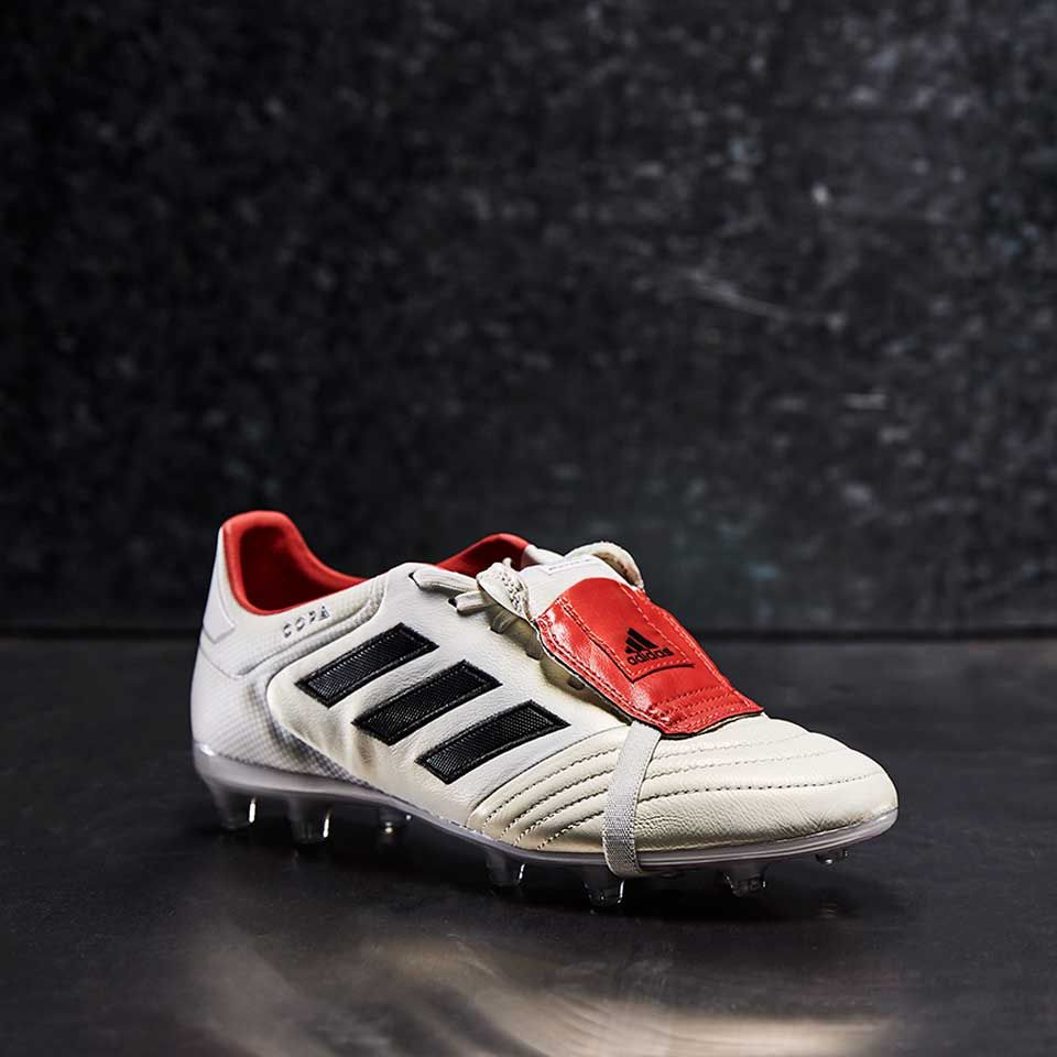 adidas Copa Gloro 17 FG Champagne - Off White/Core Black/Red
