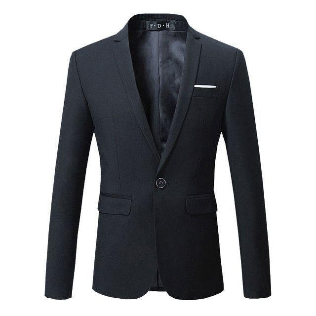 Men Dress Blazer Jacket Brand Slim Fit Casual Business Blazer Suit Male Cotton Wedding Formal Suit Blazer