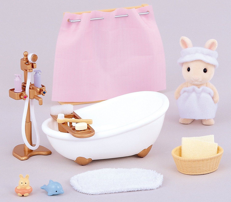 Sylvanian Families Bath And Shower Set Sylvanian Families Shower Set Girls Bedroom Sets