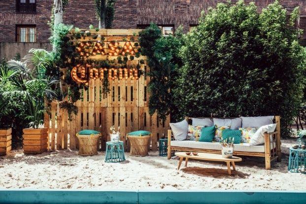 Casa Corona En Madrid Diseno De Tatiana Garcia Bueso Diariodesign Patio De Restaurante Terrazas Coronas