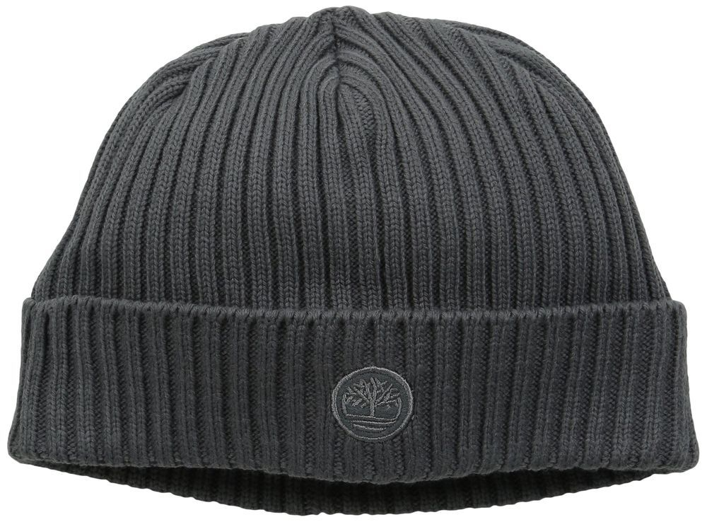 924541256 Timberland Men's TH340113 Fitted Knit Watch Cap Tornado One Size ...