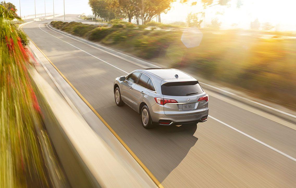 2016 Acura RDX, exterior, Slate Silver Metallic, ¾ rear