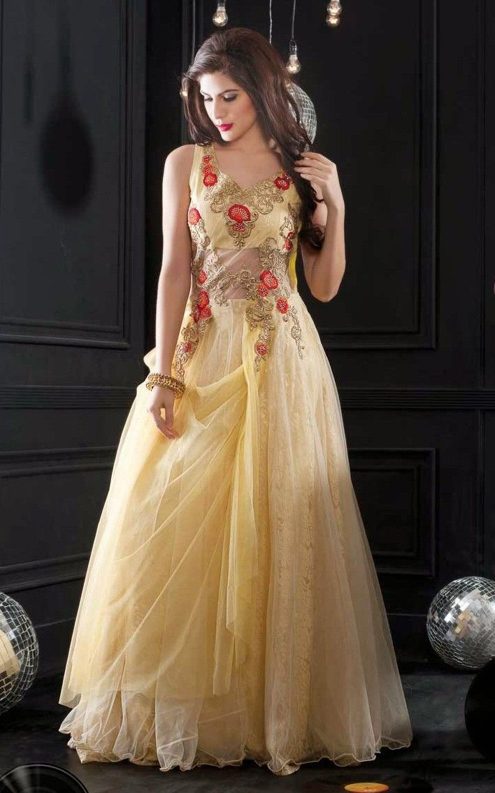 Long Evening Gowns India Google Search