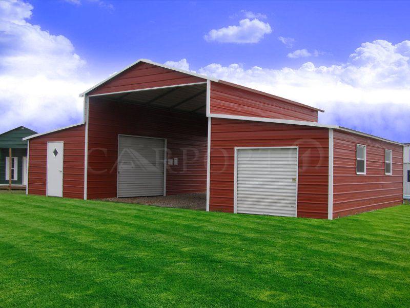 Carolina Farm Barn Metal storage buildings, Steel farm