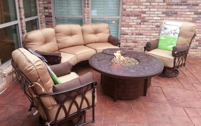 Veranda Patio Furniture Collection With Fire Pit From Pride Family