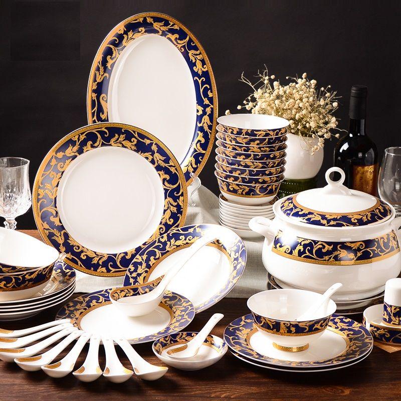 Good quality ceramic tableware set chinese style