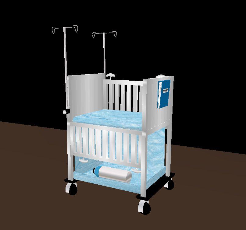 Best Blue Pediatrics Crib Cribs Toddler Bed Bed 400 x 300