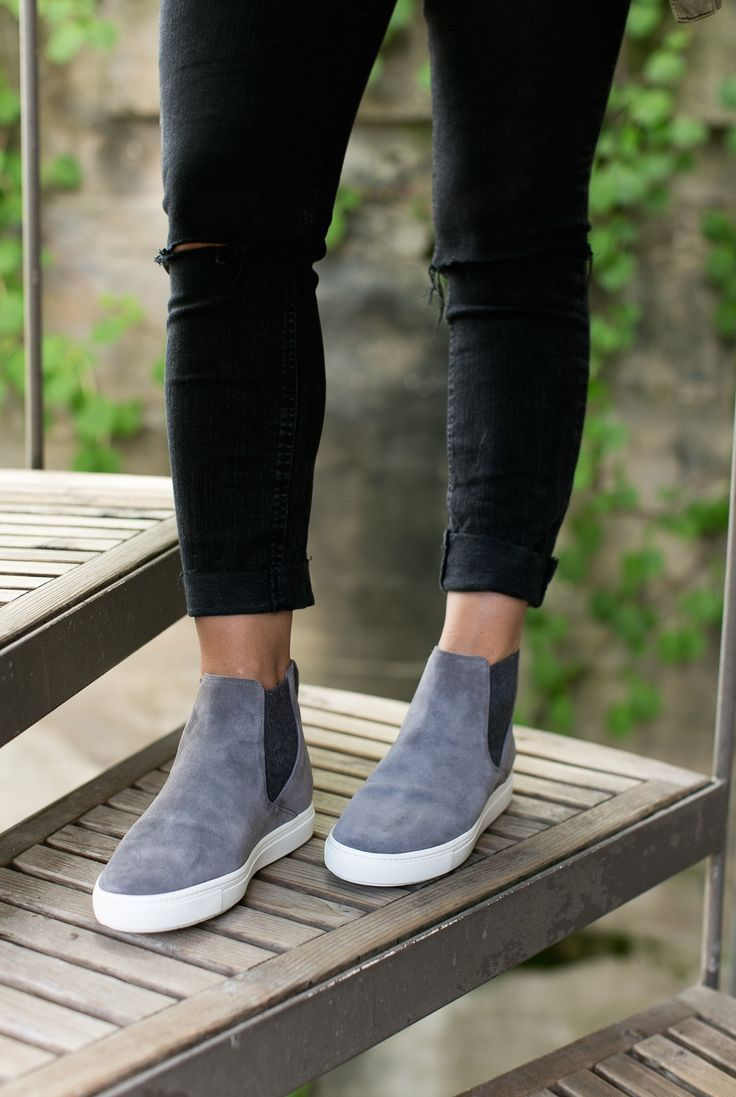 735123b575dc9c These grey suede pull-on shoes are the perfect cool-meets-classic style for  fall.  Nordstrom