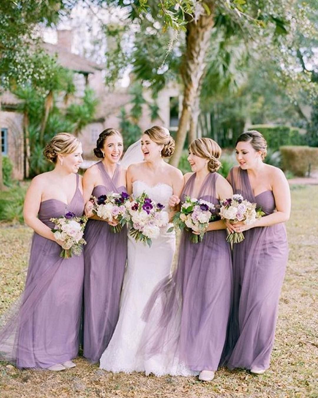 Lovely bridesmaid dresses and bouquets photo by kt crabb lovely bridesmaid dresses and bouquets photo by kt crabb mysweetengagement ombrellifo Images