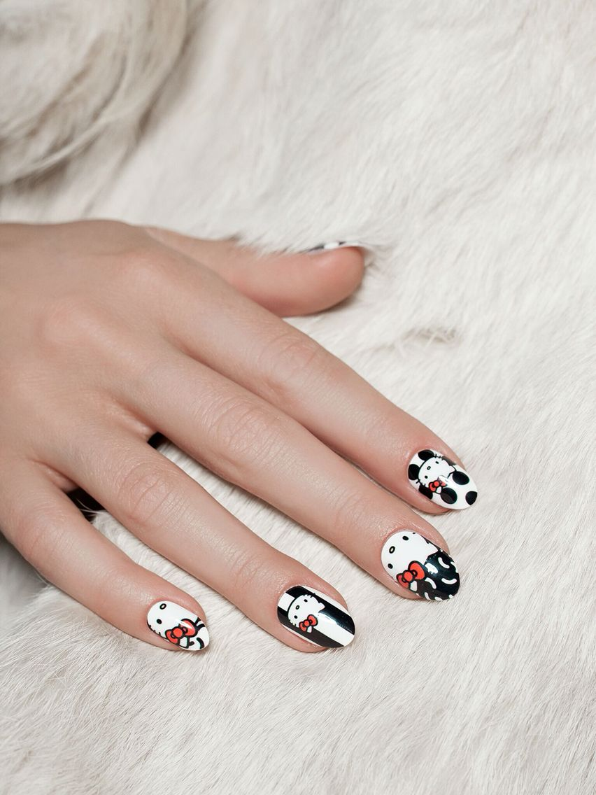 965a6df06 NCLA x Hello Kitty shopncla.com | NCLA Nail Wraps | Nail designs ...