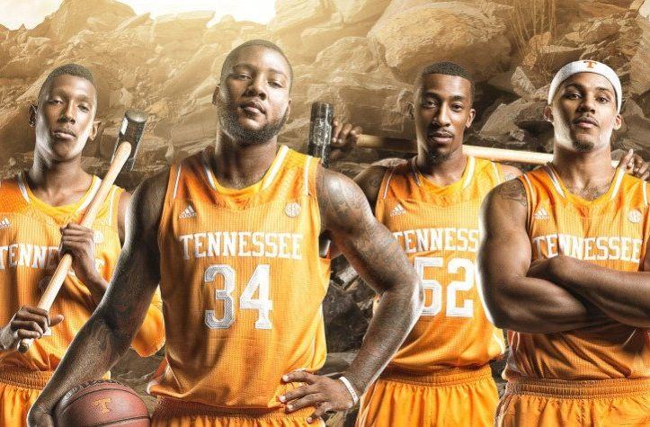 Tennessee Vols Basketball  2013-2014  Antonio Barton