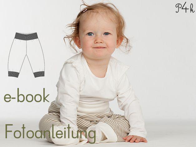Schnittmuster Baby Wendehose Strampelhose Lucca von pattern4kids - Schnittmuster für Baby- und Kinderkleider als ebook download oder Papierschnitt mit Nähanleitung auf DaWanda.com
