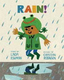rain spring themed yoga plan & games