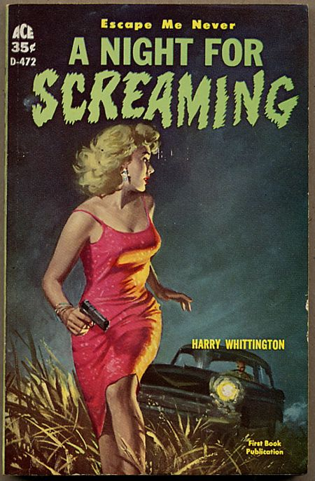 Book cover for A Night for Screaming.