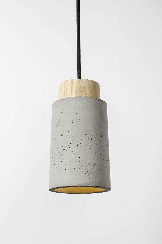 Lampe Suspension Contemporaine En Ciment A Led O Bentu Plus