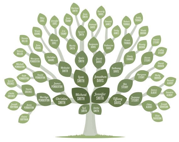 Genealogy Tree #genealogy #familytree #tree Genealogy - 3 gen family tree template