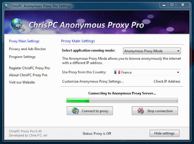 Chrispc free anonymous proxy latest version